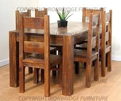 New Cheap Rustic Kitchen Table Sets