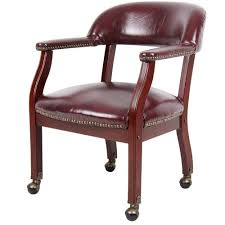 Upholstered Dining Chairs With Nailheads And Wheels Game Chair ...