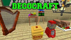 Minecraft DECOCRAFT MOD EPIC HOUSE DECORATIONS FURNITURE