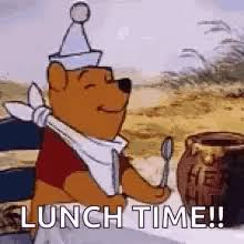 Excited Pooh Bear Winnie The GIF