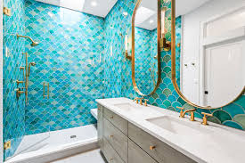 Project Spotlight: Mermaid Master Bathroom | Fireclay Tile Bathroom Design In Dubai Designs 2018 Spazio Raleigh Interior Designer Master 5 Annie Spano 30 Ideas And Pictures Designs For Bathrooms 80 Best Design Gallery Of Stylish Small Large Hgtv Portfolio Kitchen Bath Drury 50 Luxury And Tips You Can Copy From Them Mater Remodeling With Marble Linly Home Renovations Contractors Architects Designers Who To Hire Hdicaidseattleiniordesignsunsethillmaster
