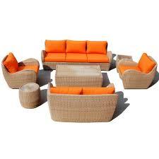 3 Seater Rattan Garden Furniture