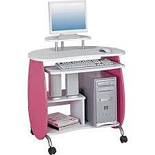 Techni Mobili Computer Desk With Storage by Techni Mobili Rta Q203 Children U0027s Computer Desk Pink White Staples