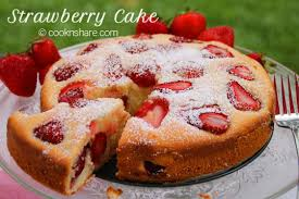 e Bowl Strawberry Cake
