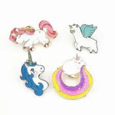 342 Unicorn Cute Tumblr Enamel Pin