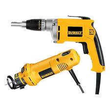 Dewalt Wet Tile Saw Canada by Dewalt Dw272co Drywall Gun Cut Out Tool Combo Kit At Lowe U0027s