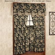 jacobean floral curtains scalisi architects