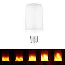 abedoe led light bulbs vintage gas l animated flickering