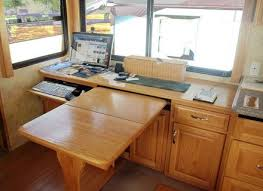 Dining Table Desk Combo Rv Cabinet