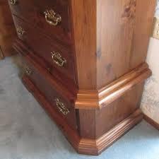 highboy dresser kling furniture rierman moving auction k bid