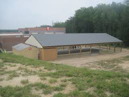 Shed Row Barns Virginia by Custom Buildings Riding Arenas J U0026n Structures