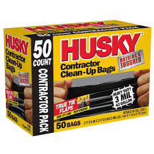 HUSKY 42 Gal Contractor Bags 50 Count HK42WC050B The Home Depot