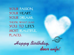 Birthday Wishes For Wife Birthday