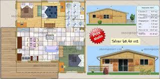 chalet en kit habitable prix chalet bois en kit pas cher 3 chambres