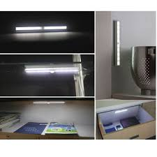 10led wireless infrared motion sensor detector closet cabinet
