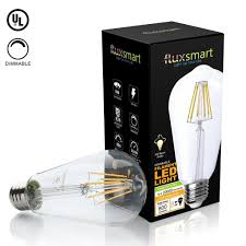dimmable edison style vintage led filament light bulb 8 watt