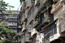 100 Apartments In Taiwan APARTMENTS CAGES Apartment Blocks Made Cheap Concrete