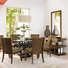 Havertys Furniture Dining Room Table by Tommy Bahama Home Ocean Club Formal Dining Room Group Wayside
