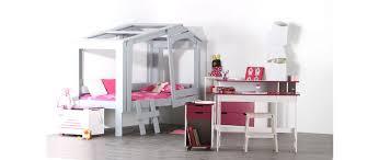 bureau fushia bureau enfant blanc fushia crea miliboo