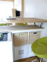 fabriquer table haute cuisine fabriquer une table bar de cuisine globr co