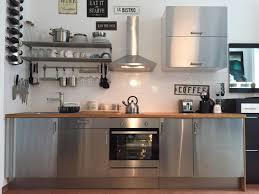 ikea rubrik edelstahl komplettküche in 1090 wien für 990