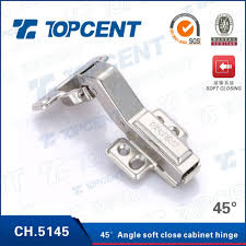 Slow Close Cabinet Hinges by Soft Close 45 Degree Angle Corner Kitchen Cabinet Door Hinge Buy