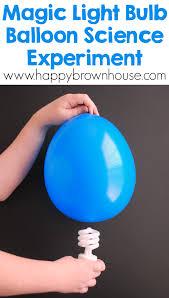 Magic Light Bulb Balloon Science Experiment