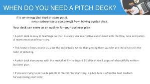 Deck Designing by Pitch Deck Designing
