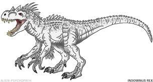 Jurassic World Indominus Rex By Alien Psychopath