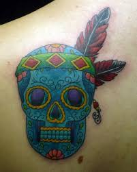 Looking For Unique Tattoos Mexican American Sugar Skull