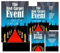 BoxedArt Member Downloads Poster Templates Art Music Red Carpet Event 18 X 24