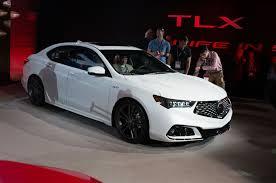 Long Wheelbase Acura TLX L Prototype Debuts in Shanghai