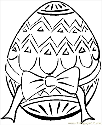 Easter Egg 25 Coloring Page