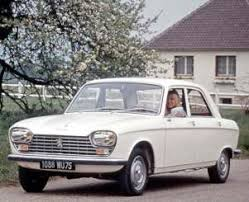 1965 Peugeot 204 specifications carbon dioxide emissions fuel