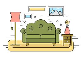 living room illustration 143451 free vectors
