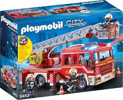 PMB 9463 FIRE LADDER UNIT , | Playmobil At TOYS