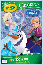 Amazon Crayola Frozen Giant Coloring Pages Toys Games