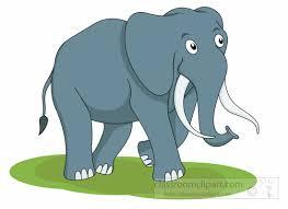 Free Elephant Clipart Clip Art Graphics Illustrations