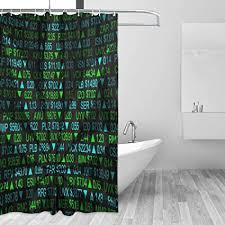 airmark duschvorhang für badezimmer dekor vorhänge set