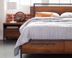 Modloft Jane Bed by Dania The Insigna Bed Mixes Expert Craftsmanship With Rustic