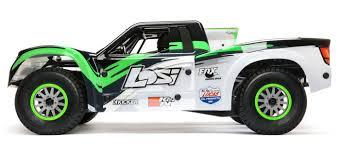 100 Losi Trucks 16 Super Baja Rey 4WD Desert Truck Brushless RTR With AVC Black