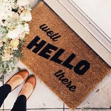 A Great Way To Welcome Visitors Your New Home Lets Find That