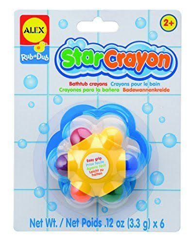 Alex Toys for Kids Bath Crayons Tub Toy