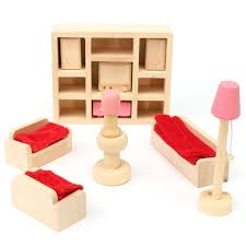 Dressing Table Chair Accessories Set For Dolls Bedroom Furniture