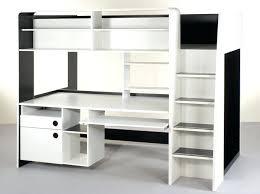 lit mezzanine avec bureau et rangement mezzanine avec bureau bureau avec rangement en hauteur lit