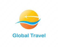 Global Travel Logo Design