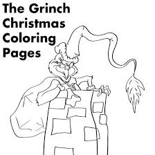 Coloring Pages For The Grinch Who Stole Christmas