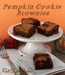 Cake Mix And Pumpkin Cookies by Fudgy Brownies With Pumpkin Cookies Pint Sized Baker