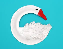 Swans Paper Plates And Craft Images On Pinterest DsQEtBLV