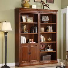 home decoration short dark wood floating bookshelves design